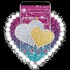 Glitter Heart Love Theme icon