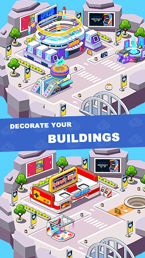 Idle investor tycoon- Build your city filehippodl screenshot 5