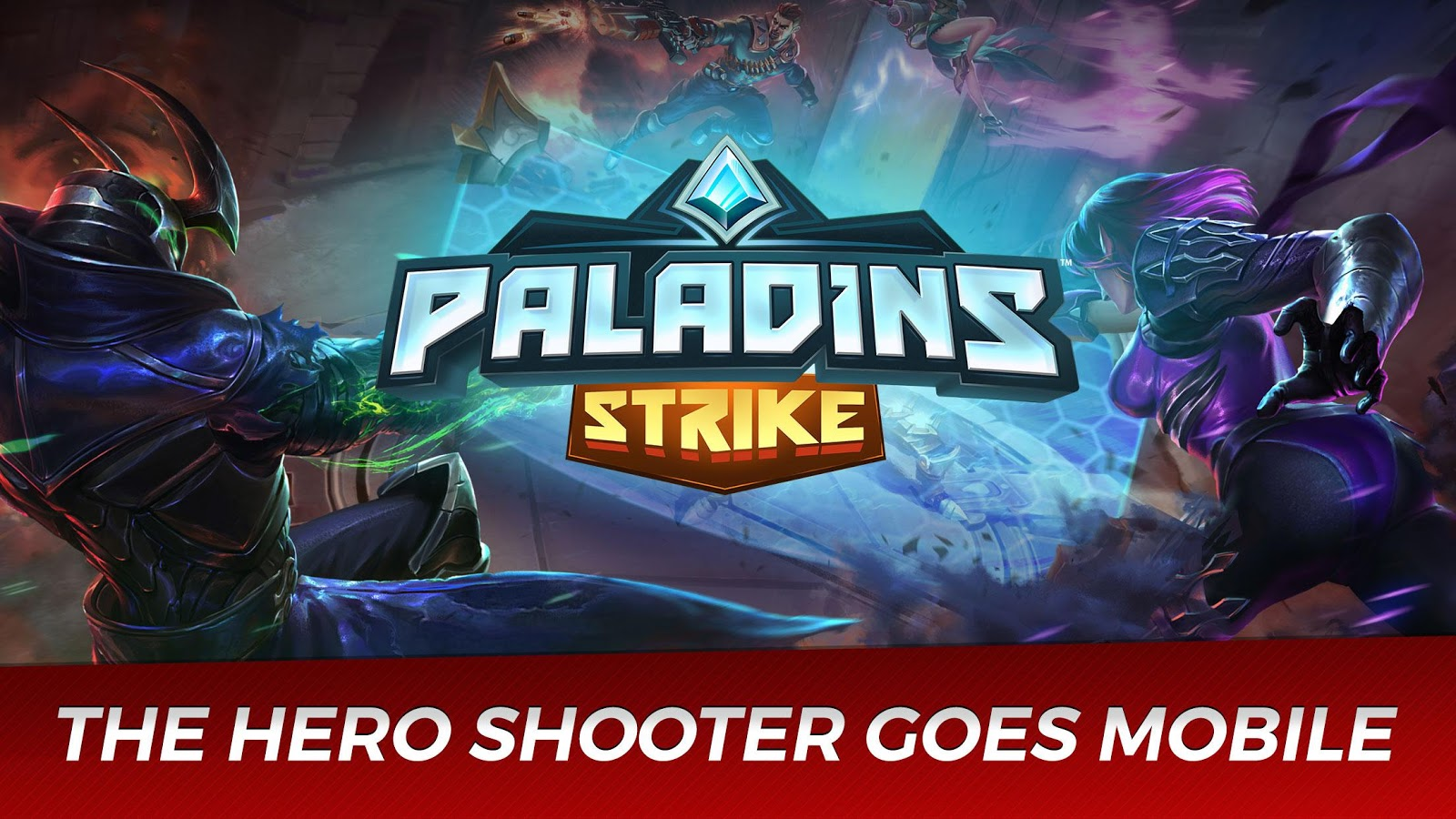 Paladins Strike- screenshot