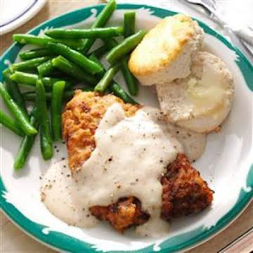 Chicken-fried Steak & Gravy Recipe