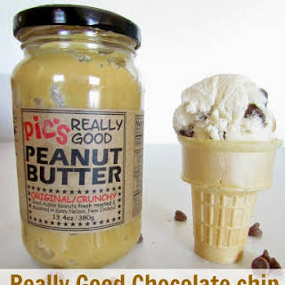 Really Good Chocolate Chip Peanut Butter Ice Cream.