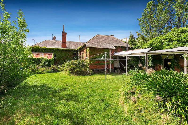 Rear view of Maroondah, 177 Kooyong Road Toorak