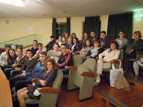 """Photo: 20/10/2014 - Istituto """"Fermi-Galilei """" di Ciriè (To) Classe II sezione B, Ragioneria."""
