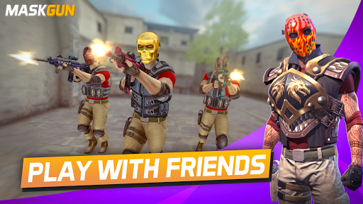 MaskGun u00ae Multiplayer FPS - Free Shooting Game 2.209 screenshots 20