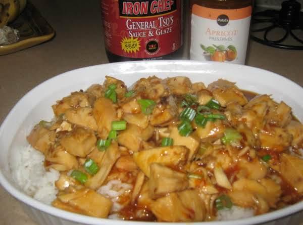 Apricot-general Tso's Chicken Recipe