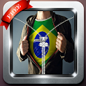 new flag brazi lsceen lock icon
