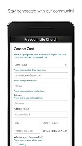 Freedom Life Church - Bowie 1.1 screenshots 1