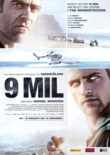 Przód ulotki filmu '9 Mil'