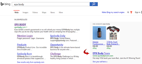 Photo: The EPX Body Team FREE team advertising on Bing