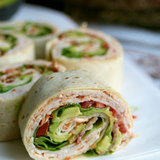 Zesty Turkey Club Pinwheels