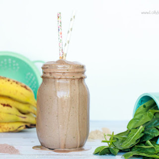 Healthy Peanut Butter Chocolate Smoothie
