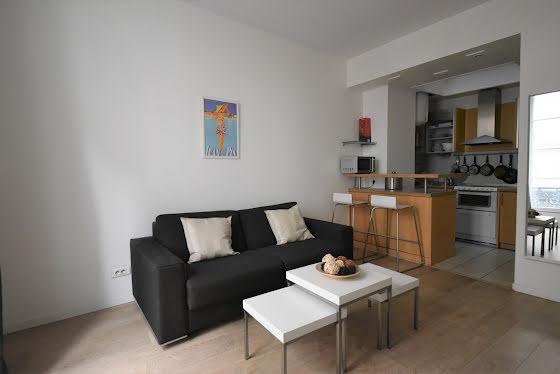 Location appartement meublé 2 pièces 27,84 m2