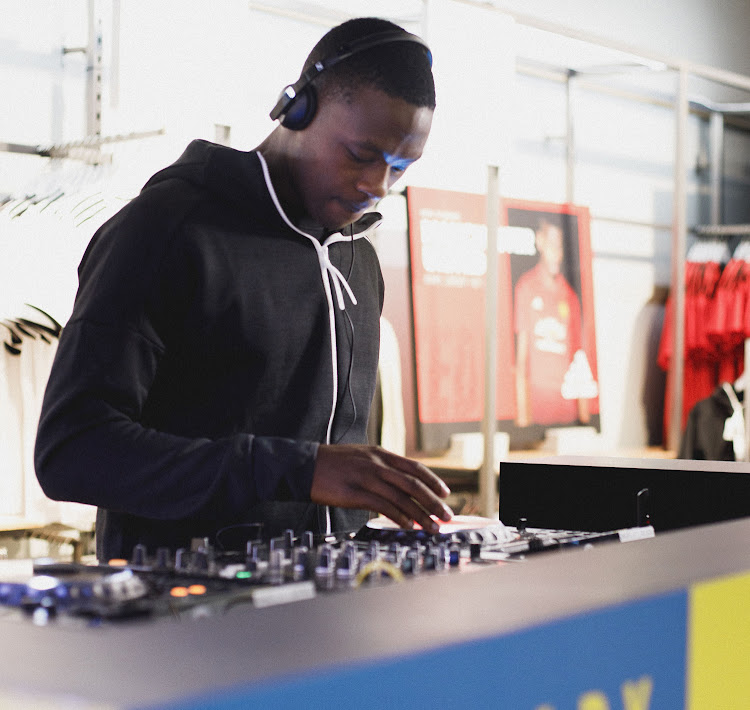 Kagiso Rabada was mistaken for a seasoned DJ when he played a set at an Adidas event in Sandton.