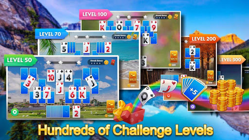 Solitaire Tripeaks - Lazy Time apkmr screenshots 5