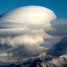 Lenticular Cloud by Rev Marc Baisden - Landscapes Cloud Formations ( cloud formations, clouds, adventure, alaska, weather, travel,  )