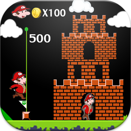 Super Adventures Gold of Mario 冒險 App LOGO-硬是要APP