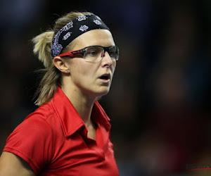 Kirsten Flipkens nog niet aan het feest tijdens hardcourtseizoen