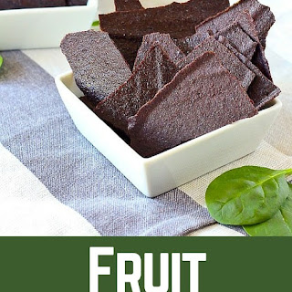 Homemade Fruit Chips with Hidden Spinach