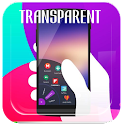 Transparent Omni theme Swipe icon