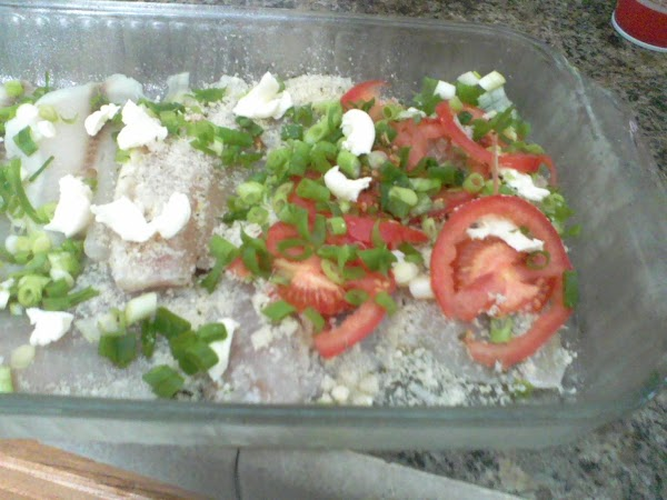 Bake for about 15 minutes, or until fish flakes easily with a fork, don't...