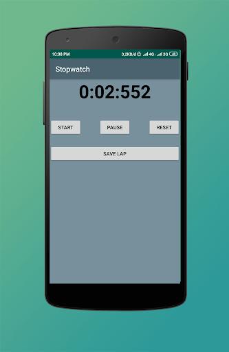 Stopwatch screenshot 2