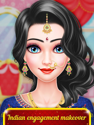 Indian Engagement Makeover - Engagement Bridal  screenshots 1