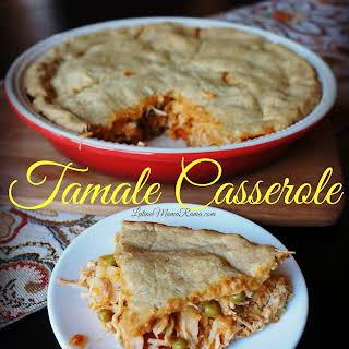 Chicken Tamale Casserole.