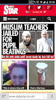 Screenshot of English Newspapers - UK News