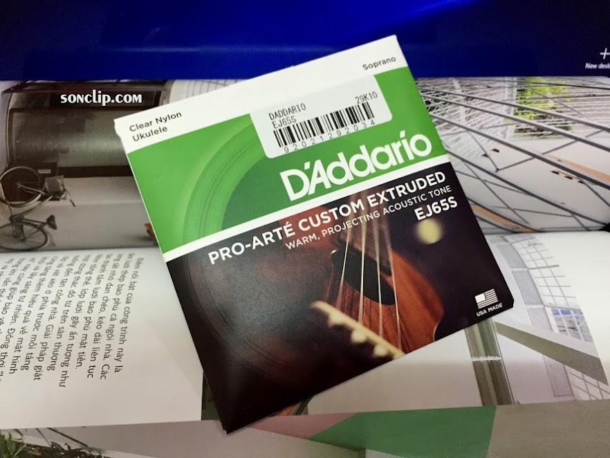 Dây Đàn Ukulele - D'Addario EJ65S