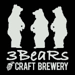Logo for 3 BeaRs Craft Brewery