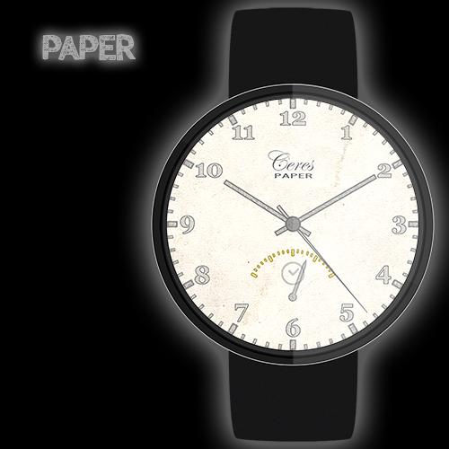 Paper Watch Free