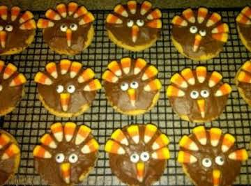 Thanksgiving Turkey Cookies-Shortcut Recipe