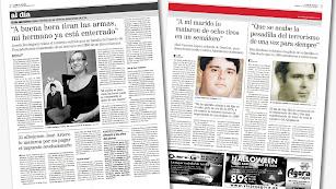 La hemeroteca de LA VOZ: hablan los familiares de las víctimas mortales de ETA.