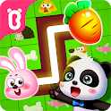 Little Panda's Pet Line Puzzle icon