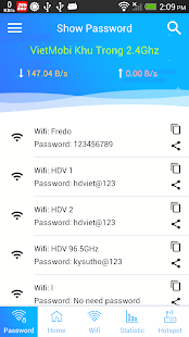 WiFi Password Recovery & Speed Test, Speed Monitor Screenshot