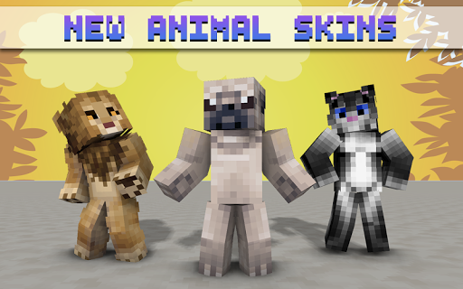 玩免費書籍APP|下載Animal Skins for Minecraft app不用錢|硬是要APP