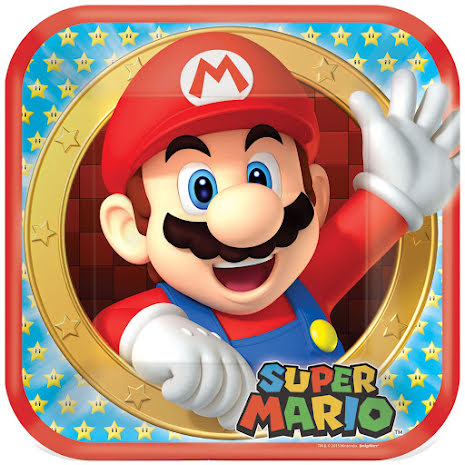 Tallrik, Super Mario 8 st