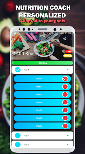 Nutrition and Fitness Coach: Diets and Recipes Pro ss3