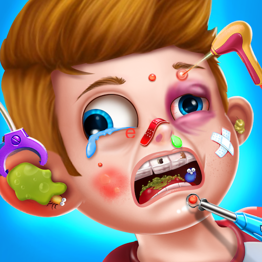 Kids Face Surgery Doctor - Hospital Emergency Fun Icon