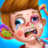 Kids Face Surgery Doctor - Hospital Emergency Fun
