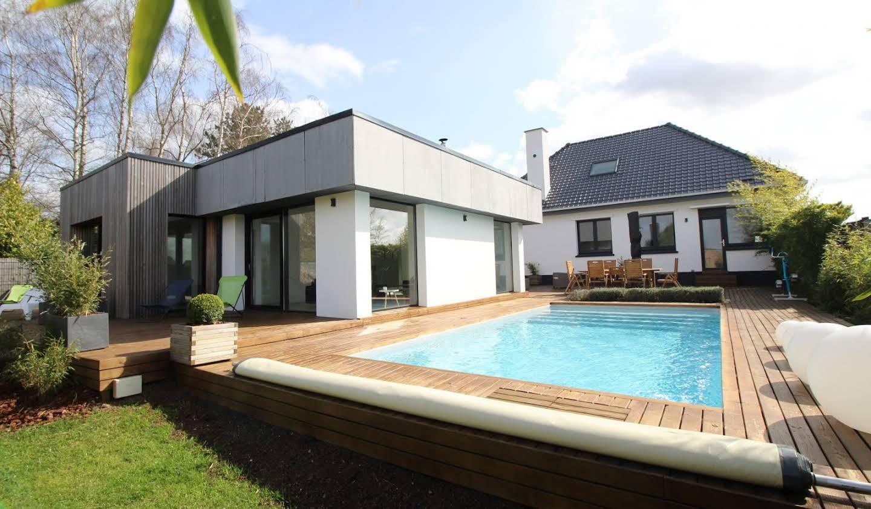 Maison avec piscine Attiches