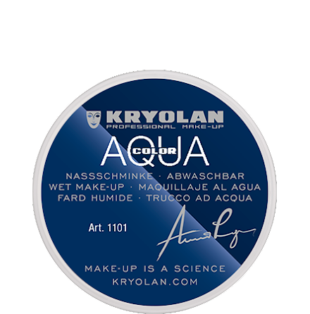 Kryolan Aqua liten 070 vit