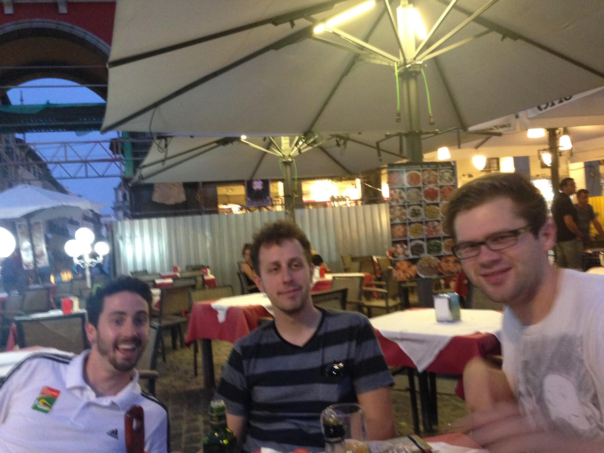 Photo: Paul with Jon and Gabe (Haley Group)