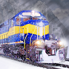 Flippy Train - Simulator Driving On Ice Road icon