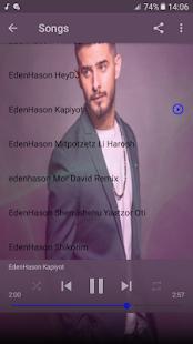 עדן חסון שירים ללא אינטרנט eden hason new songs for PC-Windows 7,8,10 and Mac apk screenshot 5
