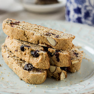 Almond Blueberry Biscotti