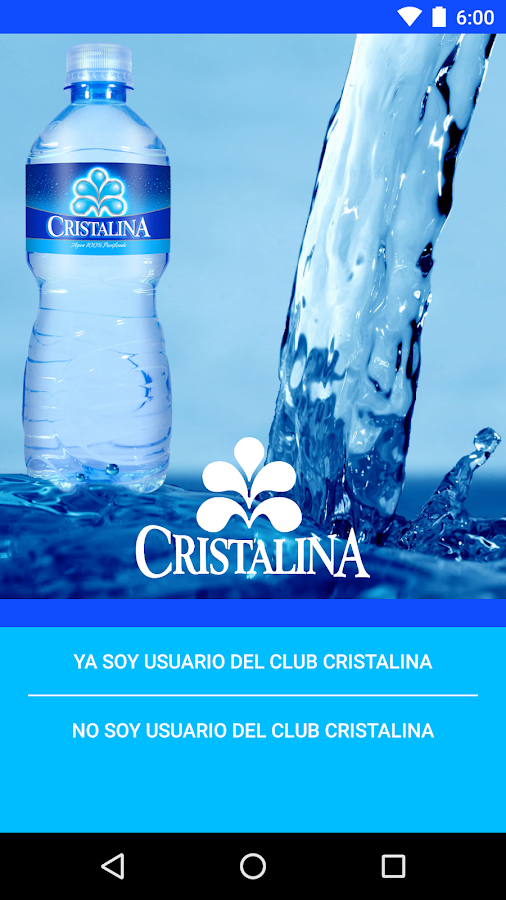 Club Cristalina: captura de pantalla