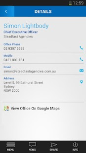 Steadfast Agencies App- screenshot thumbnail