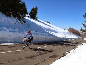 Photo: le manteau neigeux s'aippaissit