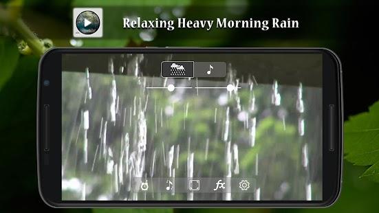 Relaxing Heavy Morning Rain - náhled